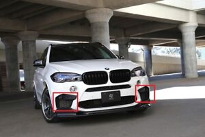 New Genuine BMW X5 M F85 X6 m F86 Set Of Front Bumper Left And Right Grills OEM