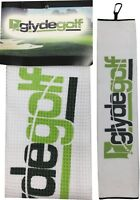 Glyde Golf Tri Fold Golf Towel - Micro Fibre Waffle Weave - 40cm X 60cm