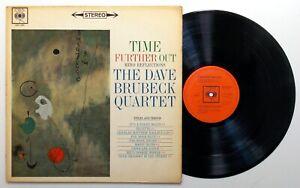 "The DAVE BRUBECK QUARTET Time Further Out 12"" Vinyl LP Original UK CBS NICE COPY"