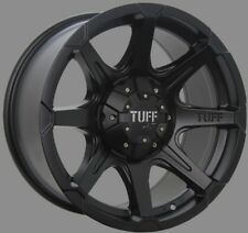 16X8 TUFF AT T05 Black Wheel Rim HILUX RANGER TRITON COLORAD DMAX Everest RODEO