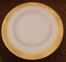 "Set Of 4 Royal Crown Derby St George 8 1/2"" Luncheon Plates"