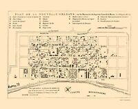 New Orleans Louisiana - Bellin 1744 - 23.00 x 29.44