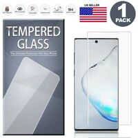 For Samsung Galaxy Note 10/10+ Plus Full Cover Tempered Glass Screen Protector