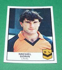 N°82 MICHEL SORIN LAVAL STADE LAVALLOIS SL PANINI FOOTBALL 84 1983-1984