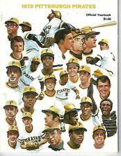 1973 Pittsburgh Pirates Baseball Yearbook magazine, Willie Stargell VG