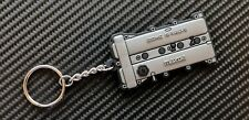 Mazda Mx5 Engine Cover Key Ring - Silver Eunos