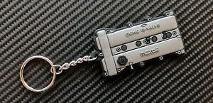 Mazda Mx5 Engine Cover Key Anello - Silver Eunos Miata