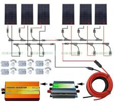 1KW 24V off Grid Solar System kit 6x160W Solar Panel + 1500W Pure Sine Inverter