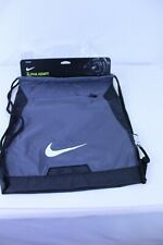 Nike Unisex Training Alpha Adapt Gym Sack Steel Grey / Black Outside Zip Pocket