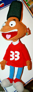 "Hey Arnold Gerald 21"" Plush Figure Nickelodeon Nanco"