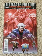 ULTIMATE FALLOUT #5 Marvel Comics 1st 2011 Spider-Man No More MILES MORALES App