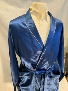 Mens Silk Satin Robe -Designer High Quality 5 Day Delivery-FAST SHIP- 27k Sold