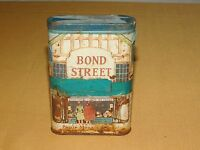 VINTAGE PHILIP MORRIS BOND STREET PIPE SMOKING TOBACCO TIN ****EMPTY*****