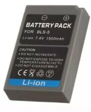 Battery Replace Original OLYMPUS BLS-50 BLS-5 For BCS-5 EM10 MarkII EPL5 EPL7