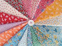 Teapot Garden Darlene Zimmerman Feedsack  30s Repro Fabrics ~ 16 fat quarters