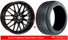 Summer Calibre 4 Car Wheels with Tyres