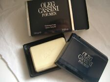 OLEG CASSINI FOR MEN OUTLET  SAVON PARFUME 100 gr each SOAP-SEIFE RARE