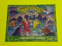 BATTLETOADS DOUBLE DRAGON  Instruction Booklet Manual Original NES NINTENDO GAME