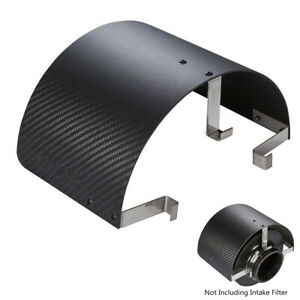 """Universal Stainless Steel Air Intake Heat Shield for 2.25"""" to 3.5"""" inlet Filter"""