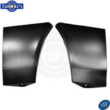 78-81 Camaro CUSTOM Fender Extension smooth - NO Side Marker Light Holes - PAIR