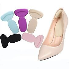 1 Pair Gel High Heel Liner Grip Back Shoe Insole Pad Foot Protector Cushion Care