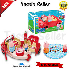 Peppa Pig Playset Mini Picnic with figures Xmas Toy Children Boys Girls Music