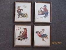 """Norman Rockwell Embossed Prints """"Lot Of 19"""" - See Pictures - Free Shipping"""