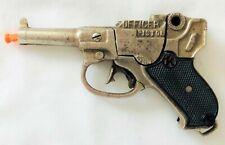 1940 Kilgore Cast Iron  Officer's Cap Gun Pistol