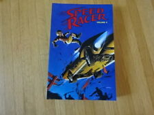 Rare Copy Of Speed Racer Volume 4 Tpb Graphic Novel!