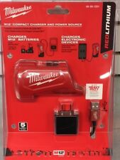 Milwaukee 48-59-1201 M12 Compact Charger and Portable Power Source
