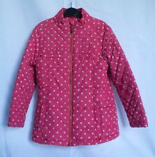 NEXT girl's pink lightweight quilted jacket. Age 5-6 yrs