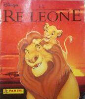 ALBUM FIGURINE STICKER FILM DISNEY MOVIE 1994,IL RE LEONE THE LION KING,COMPLETO