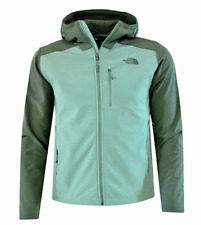 THE NORTH FACE Men's Apex Bionic 2 Hoodie Soft Shell Jacket 2XL Duck Green