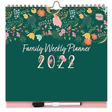 More details for 2021-2022 boxclever press family weekly planner. 16-month family calendar.