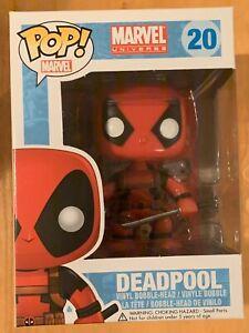 Deadpool Funko Pop Vinyl #20 Marvel Universe New
