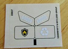 Lego Sticker Sheet for Set  60000 Fire Motorcycle - New