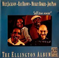 Milt Jackson - Toast Duke Ellington (Like New) Concord Jazz