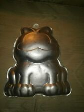Garfield Cat Vintage 1978 Wilton 3D Cake Pan Birthday Baking Mold With Face