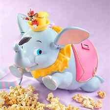 Tokyo Disneyland Resort Dumbo Timothy Popcorn Bucket Container Case Japan NEW