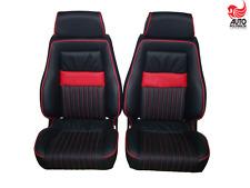 2 Recaro Specialist LS mit kurzer Sitzfläche Leder Audi RS 2, Golf 1,2 Cabrio