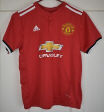 Boys Adidas Manchester United Jersey Size Small/ 26 US Childrens top shirt