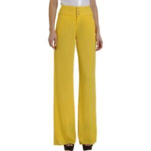 Helmut Lang Women's Yellow Vega Pants Size 6 MSRP: $425.00