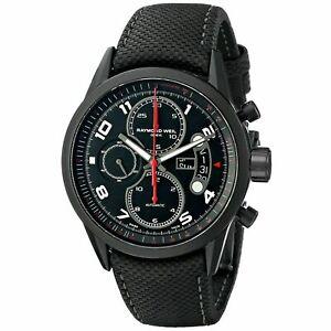Raymond Weil Freelancer 7730-BK-05207 Men's 42mm Swiss Automatic Chrono Watch