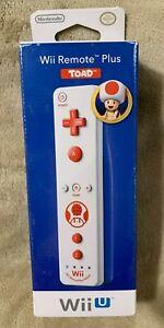 Nintendo Wii/Wii U Remote Plus Controller Toad - North American Version