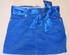NWT THE CHILDREN'S PLACE TCP Girls Royal Blue Sparkle Corduroy Skirt/Skort 4