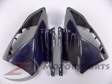 2008-2016 Yamaha R6 Upper Front Nose Headlight Fairing Cowl Carbon Fiber Blue