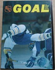 April 1991 NHL Goal Magazine Hockey Cover VF-