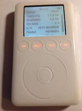Apple iPod   15GB  3rd Generation. *New Battery*  M9460LL  White