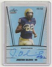 Jonathan Baldwin  Rookie Auto/Autograph card #/50  nice.