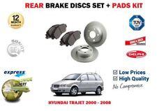DISC PADS KIT FOR HYUNDAI TRAJET 2.0DT CRDi 2001-12//2007 FRONT BRAKE DISCS SET
